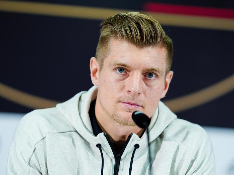 Übt harte Kritik an WM-Gastgeber Katar: Toni Kroos. Foto: Uwe Anspach/dpa
