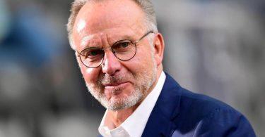 Hält nichts von einem WM-Boykott: Bayern-Boss Karl-Heinz Rummenigge. Foto: Robert Michael/dpa-Zentralbild/Pool/dpa