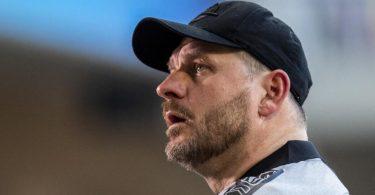 Führte Paderborn in die Bundesliga: Trainer Steffen Baumgart. Foto: David Inderlied/dpa