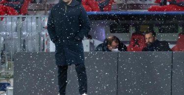 Sorgte mit seinen Aussagen nach der Pleite gegen PSG für Diskussion: Bayern-Coach Hansi Flick. Foto: Sven Hoppe/dpa
