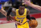 Dennis Schröder sieht sich in den Verhandlungen mit den Los Angeles Lakers in «einer super Situation». Foto: Carlos Osorio/AP/dpa