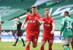 Nach Leipzigs Sieg in Bremen und Bayerns Patzer gegen Union keimen nochmal Titelhoffnungen bei RB. Foto: Carmen Jaspersen/dpa