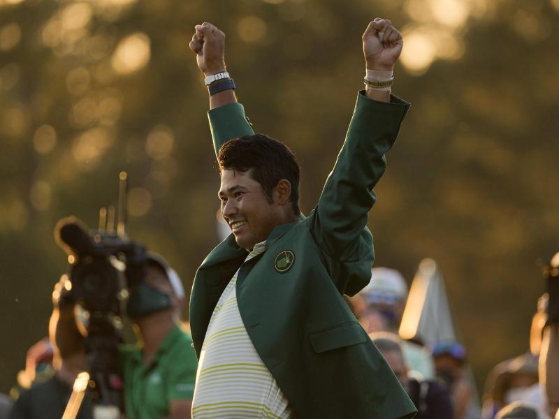 «Ich hoffe, dass ich ein Pionier bin, dem viele andere Japaner folgen werden», sagte Golf-Profi Hideki Matsuyama nach dem Major-Triumph. Foto: Charlie Riedel/AP/dpa