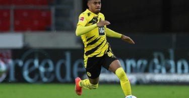 Ansgar Knauff ist mit dem BVB in der Champions League gefordert. Foto: Tom Weller/dpa