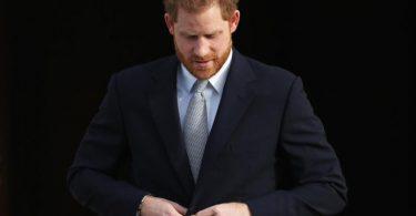 Prinz Harry nimmt am Samstag an der Beerdigung von Prinz Philip teil. Foto: Yui Mok/PA Wire/dpa