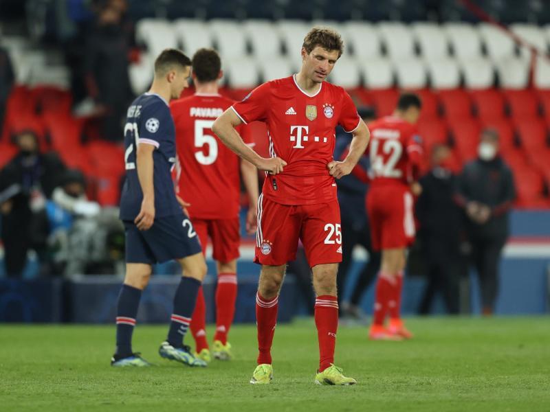Thomas Müller zeigt sich nach dem Spiel enttäuscht. Foto: Sebastien Muylaert/dpa