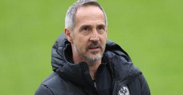 Trainer Adi Hütter wechselt von Eintracht Frankfurt zu Borussia Mönchengladbach. Foto: Jan Woitas/dpa-Zentralbild/dpa