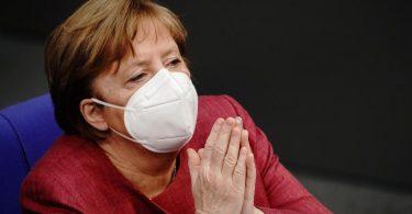 Bundeskanzlerin Merkel hat ihre erste Schutzimpfung gegen das Coronavirus erhalten. Foto: Kay Nietfeld/dpa