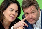 Annalena Baerbock oder Robert Habeck - wer wird Kanzlerkandidat bei den Grünen?. Foto: Hendrik Schmidt/zb/dpa/Archiv