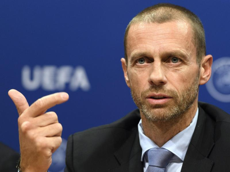 Aleksander Ceferin, Präsident der UEFA. Foto: Laurent Gillieron/KEYSTONE/dpa