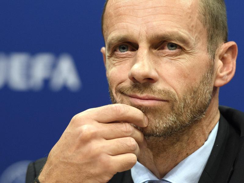 Aleksander Ceferin ist der Präsident der UEFA. Foto: picture alliance / Laurent Gillieron/KEYSTONE/dpa