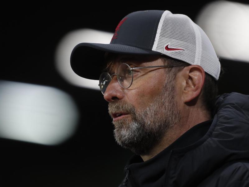 Jürgen Klopp sagt, er habe nicht vor, persönlich Konsequenzen aus der Beteiligung seines Arbeitgebers zu ziehen. Foto: Lee Smith/POOL Reuters/AP/dpa