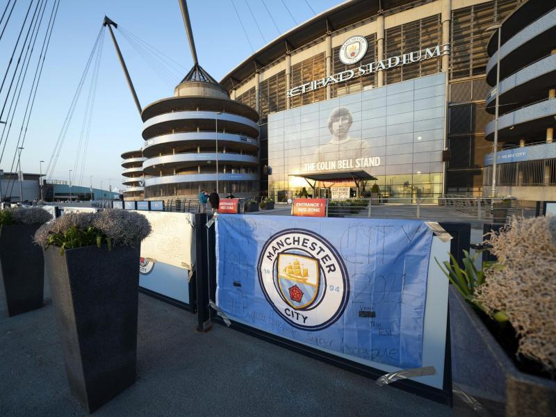 Manchester City zog seine Zusage zur geplanten Super League zurück. Foto: Jon Super/AP/dpa