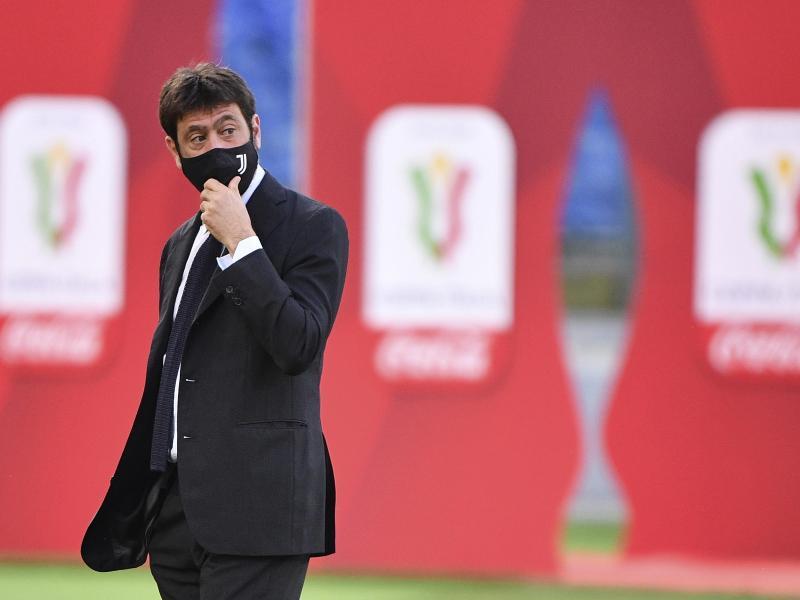 Gibt das Projekt Super League auf: Andrea Agnelli, Präsident von Juventus Turin. Foto: Alfredo Falcone/LaPresse/AP/dpa