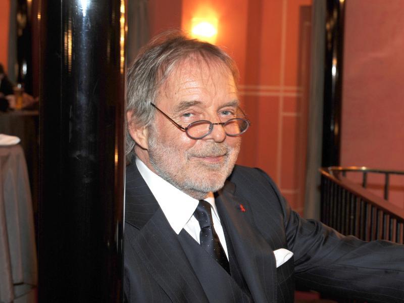 Thomas Fritsch bei der Gala zum 50-jährigen Bestehen der Kleinen Komödie im Bayerischen Hof (2011). Seine Karriere begann der Schauspieler am Theater. Foto: picture alliance / dpa