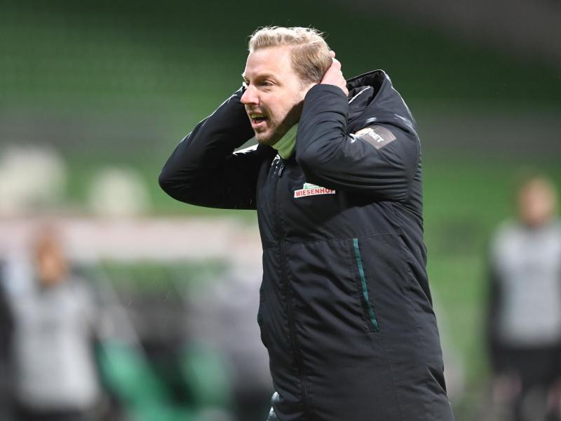 Trainer Florian Kohfeldt steckt mit Werder im Kampf um den Klassenerhalt. Foto: Carmen Jaspersen/dpa
