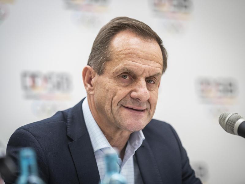 Warnt wegen der Corona-Beschränkungen vor enormen finanziellen Einbußen für die Vereine und Verbände: DOSB-Boss Alfons Hörmann. Foto: Frank Rumpenhorst/dpa
