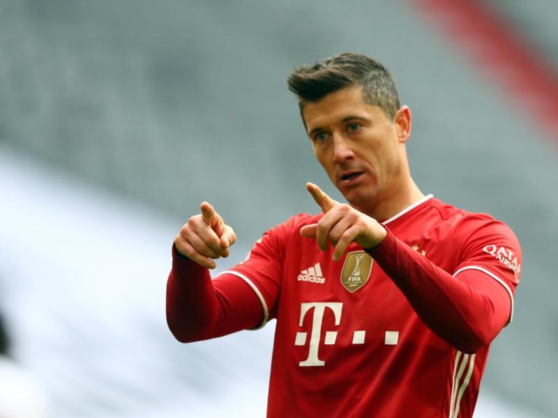 Kommt Bayern-Stürmer Robert Lewandowski noch auf die 40-Tore-Marke?. Foto: Matthias Schrader/AP POOL/dpa