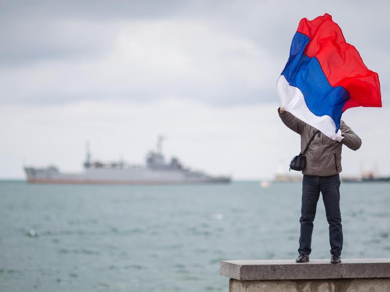 Eine Provokation? Russland will verschiedene Seegebiete sperren. Foto: picture alliance / dpa