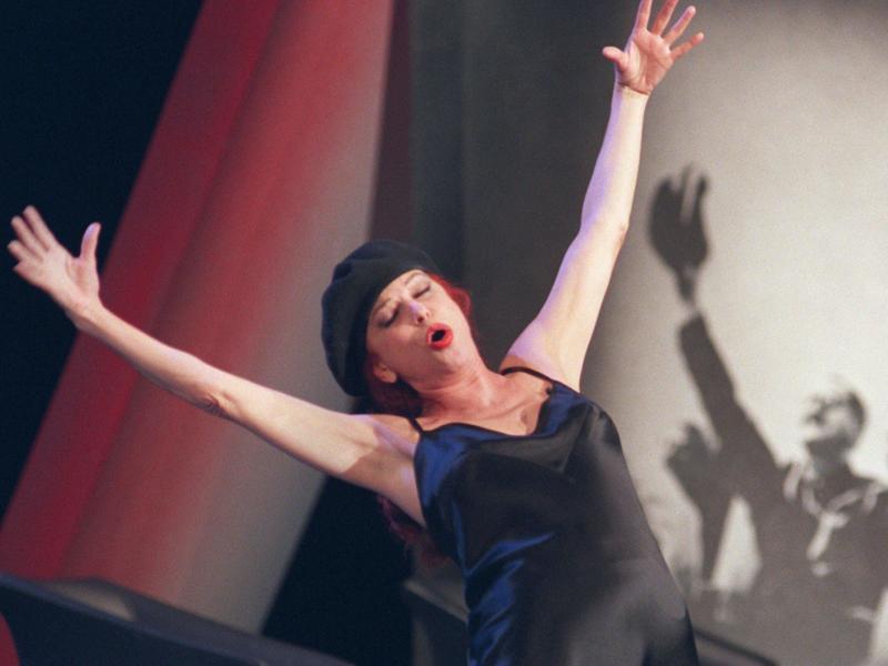 Milva war auch eine anerkannten Interpretin von Bertolt Brecht. Foto: Andreas Gebhard/dpa