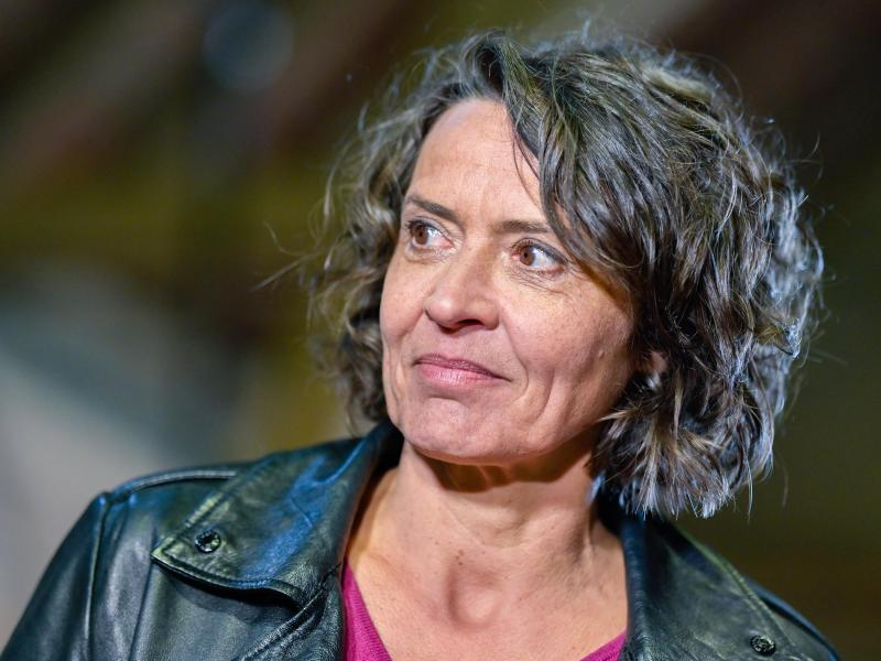 Die Schauspielerin Ulrike Folkerts hat - wie einige weitere Beteiligte - ihr Video inzwischen zurückgezogen. Sie spricht von einem Fehler. Foto: Uwe Anspach/dpa
