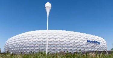 Vier Spiele der Fußball-EM werden in der Münchner Allianz Arena ausgetragen. Foto: Matthias Balk/dpa