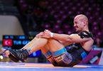 Frank Stäbler hat seinen Auftaktkampf bei der Ringer-EM verloren. Foto: Kadir Caliskan/UWW/dpa