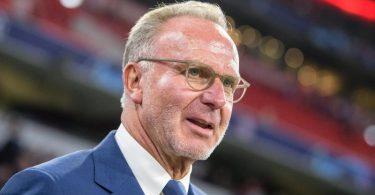 Für Bayern-Boss Karl-Heinz Rummenigge ist das Projekt Super League definitiv gescheitert. Foto: Matthias Balk/dpa