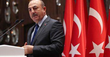 Verärgert über US-Präsident Biden: Der türkische Außenminister Mevlüt Cavusoglu. Foto: -/Pool Turkish Foreign Ministry/AP/dpa