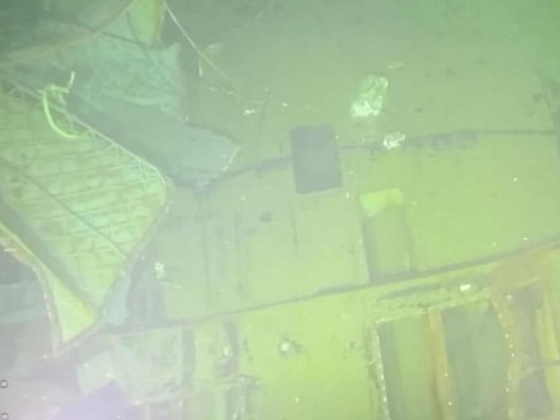 Wrackteile des U-Boots «KRI Nanggala 402». Foto: -/Indonesian Navy/AP/dpa