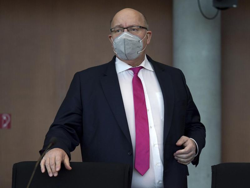 Bundeswirtschaftsminister Peter Altmaier. Foto: Michael Sohn/APl/dpa
