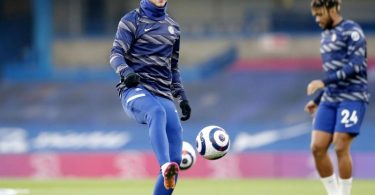 Steht gegen Real Madrid in der Startelf des FC Chelsea: Timo Werner (l). Foto: Frank Augstein/PA Wire/dpa