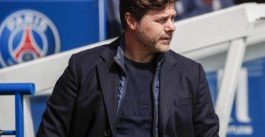 Lässt gegen Manchester City Julian Draxler und Thilo Kehrer zunächst auf der Bank: PSG-Trainer Mauricio Pochettino. Foto: Francois Mori/AP/dpa