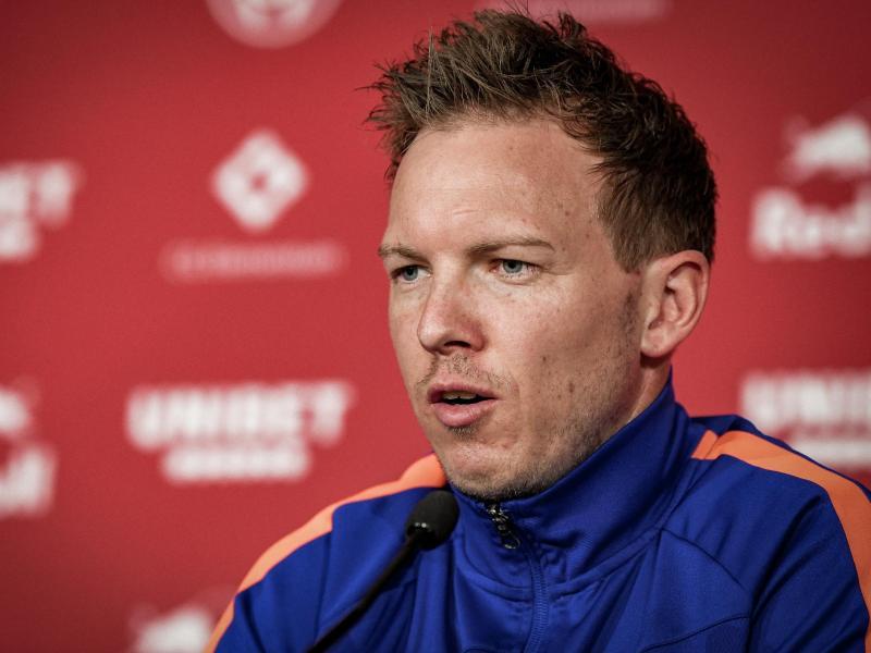Möchte sich als Pokalsieger aus Leipzig verabschieden: RB-Coach Julian Nagelsmann. Foto: ---/RB Leipzig/dpa
