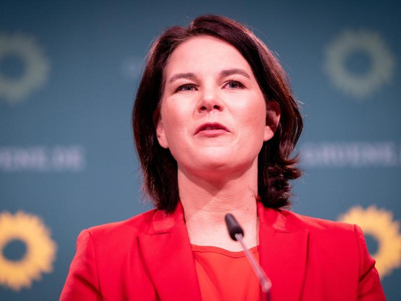 Annalena Baerbock, Bundesvorsitzende von Bündnis 90/Die Grünen und Kanzlerkandidatin der Partei. Foto: Kay Nietfeld/dpa
