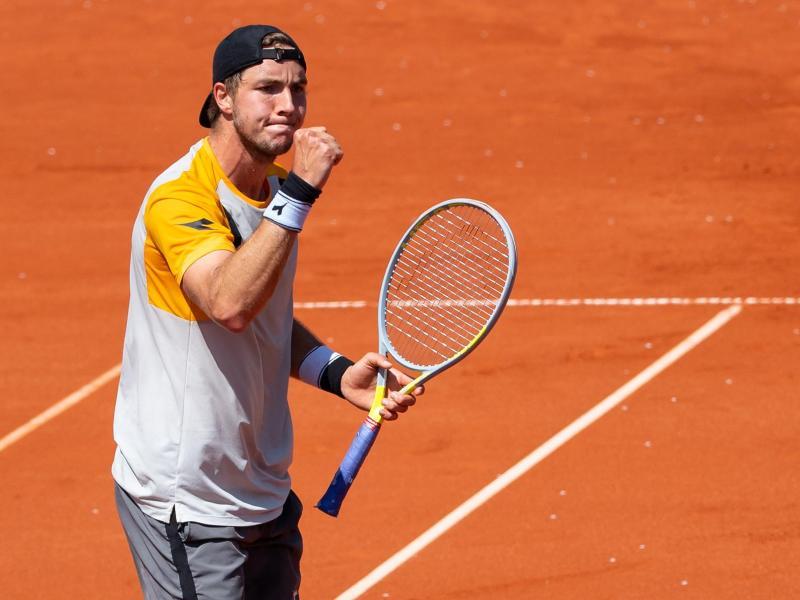 Jan-Lennard Struff erreichte das Halbfinale. Foto: Sven Hoppe/dpa