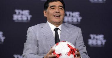 Fußballlegende Diego Maradona war am 25. November 2020 im Alter von nur 60 Jahren an einem Herzinfarkt gestorben. Foto: picture alliance / Patrick Seeger/dpa
