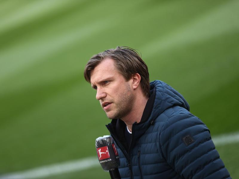 Wird als Nachfolger von Fredi Bobic Sportvorstand bei Eintracht Frankfurt: Markus Krösche. Foto: Rolf Vennenbernd/dpa Pool/dpa