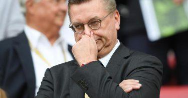 Der frühere DFB-Präsident Reinhard Grindel. Foto: Arne Dedert/dpa