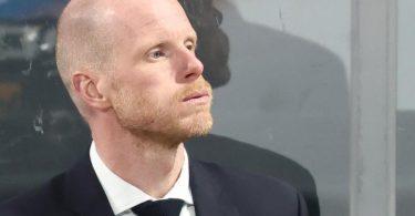 Steht vor einer schweren Kaderfindung vor der WM: Toni Söderholm , Eishockey-Bundestrainer. Foto: Daniel Karmann/dpa
