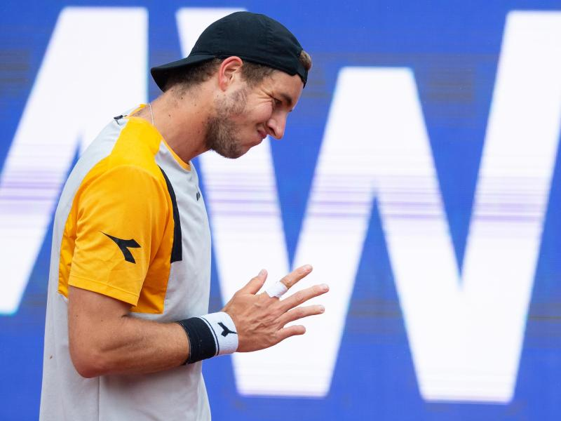 Jan-Lennard Struff hat seinen ersten Turniersieg auf der ATP-Tour verpasst. Foto: Sven Hoppe/dpa