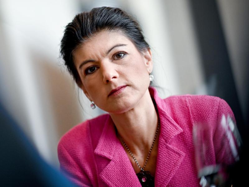 Sahra Wagenknecht, Autorin und frühere Fraktionsvorsitzende der Partei Die Linke. Foto: Britta Pedersen/dpa-Zentralbild/dpa