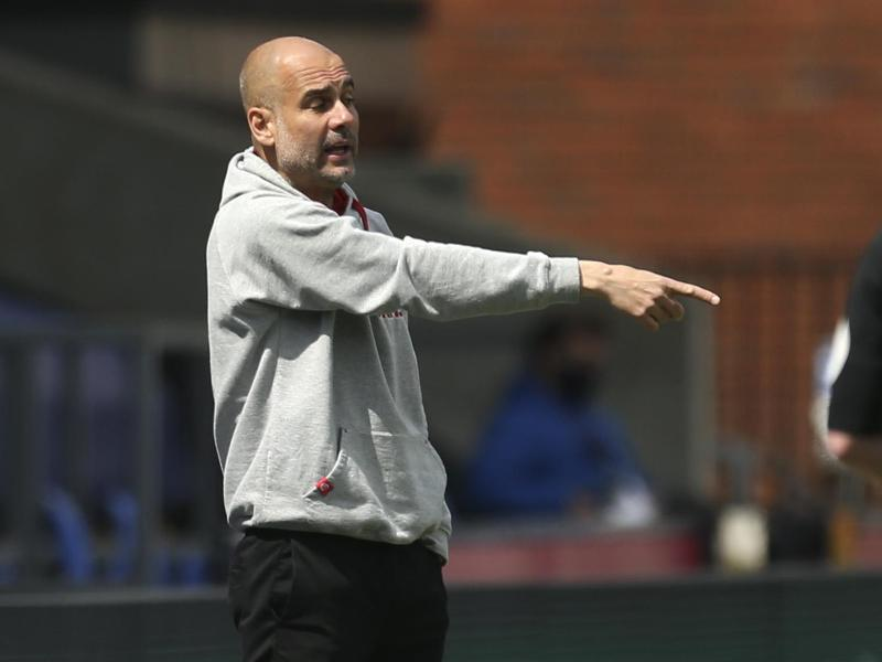 Erwartet gegen Paris Saint-Germain ein hartes Spiel: Pep Guardiola, Trainer von Manchester City. Foto: Steve Paston/Pool PA/dpa