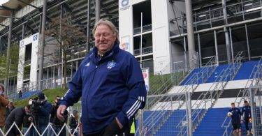 Der neue Trainer des Hamburger SV: Horst Hrubesch übernimmt die Mannschaft bis zum Saisonende. Foto: Marcus Brandt/dpa