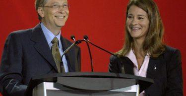 Bill (l) und Melinda Gates lassen sich scheiden. Foto: epa Warren Toda/EPA/dpa/Archiv