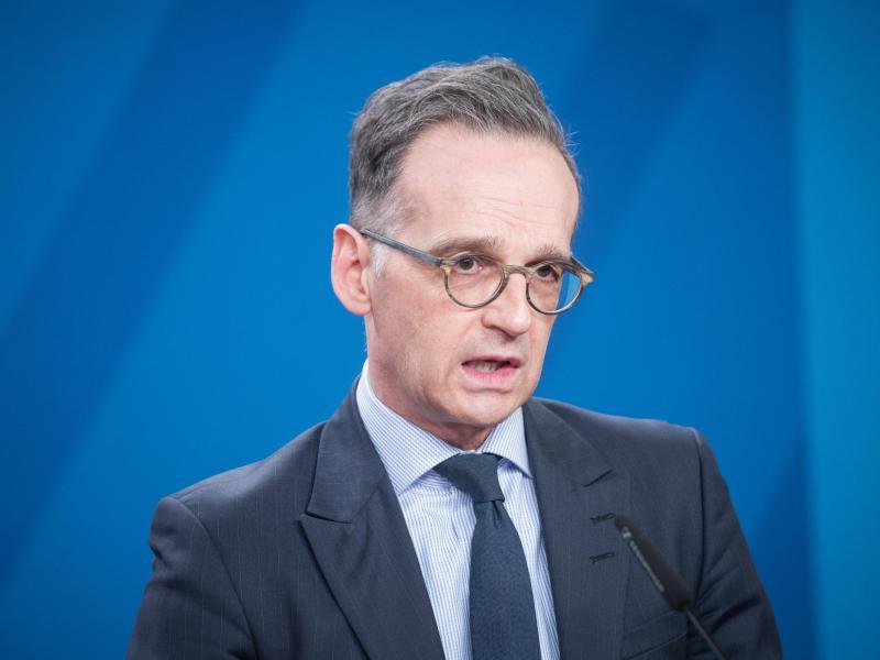 Auch Außenminister Heiko Maas wird bei demTreffen in London dabei sein. Foto: Stefanie Loos/AFP Pool/dpa