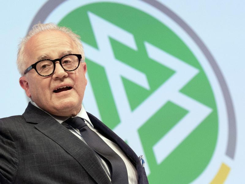 DFB-Präsident Fritz Keller hatte sich eine verbale Entgleisung geleistet. Foto: Boris Roessler/dpa