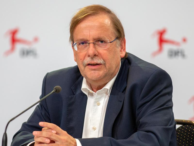 Rainer Koch, Vizepräsident des Deutschen Fußball-Bundes. Foto: Andreas Gora/dpa