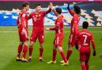 Der FC Bayern München kann sich vorzeitig die deutsche Meisterschaft sichern. Foto: Matthias Balk/dpa