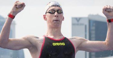 Für Schwimmer Florian Wellbrock ist die EM Formcheck und Medaillenchance zugleich. Foto: Bernd Thissen/dpa